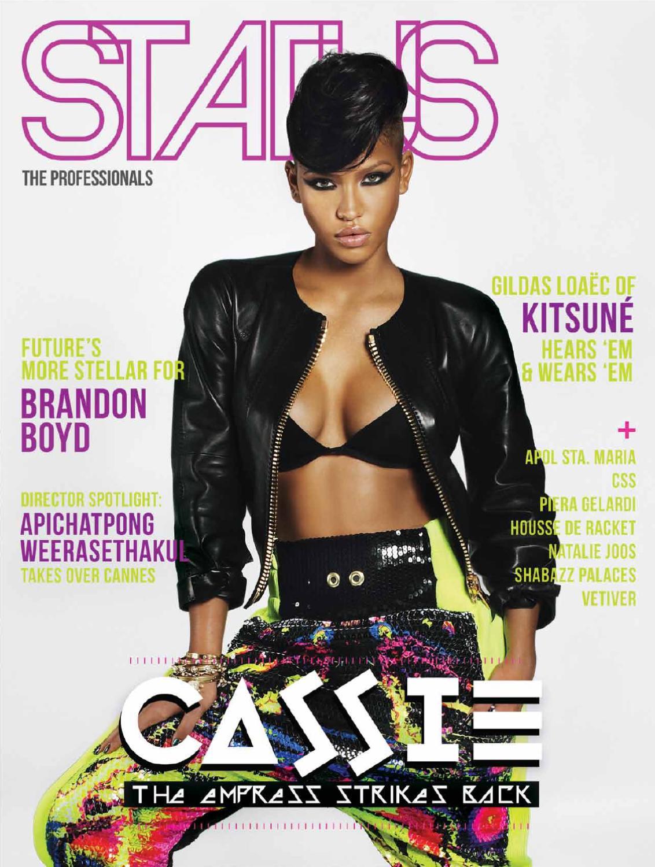 Status Magazine Feat Cassie By Status Magazine Issuu