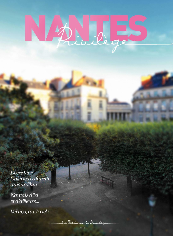 NANTES PRIVILEGE (2012) by Les Éditions du Privilège - issuu 0522430a687