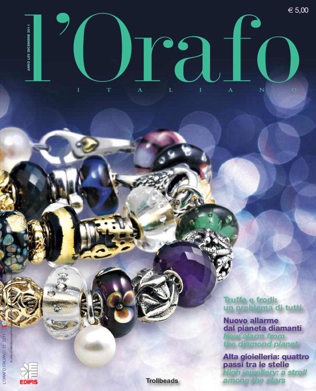 alta qualità vendita outlet 2019 originale L'Orafo Italiano 2011 12 by Edifis - issuu