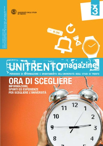 Unitn Calendario Accademico.Unitrentomagazine N 3 By University Of Trento Issuu