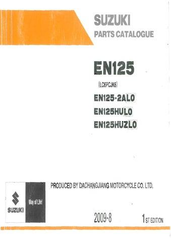 manual despiece suzuki 125 en l0 by fernando laborda issuu rh issuu com suzuki dr 125 manual pdf suzuki en 125 manual de taller
