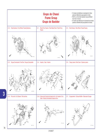 manual despiece honda 250 cbx twister 2006 al 2009 by fernando rh issuu com honda twister 2017 manual honda twister 2018 manual