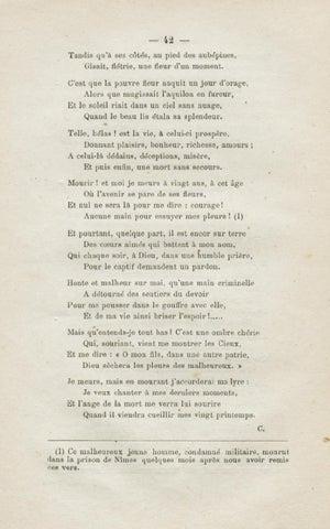 Poesies Et Lettres Des Detenus Des Prisons De Laval By Bibliotheque