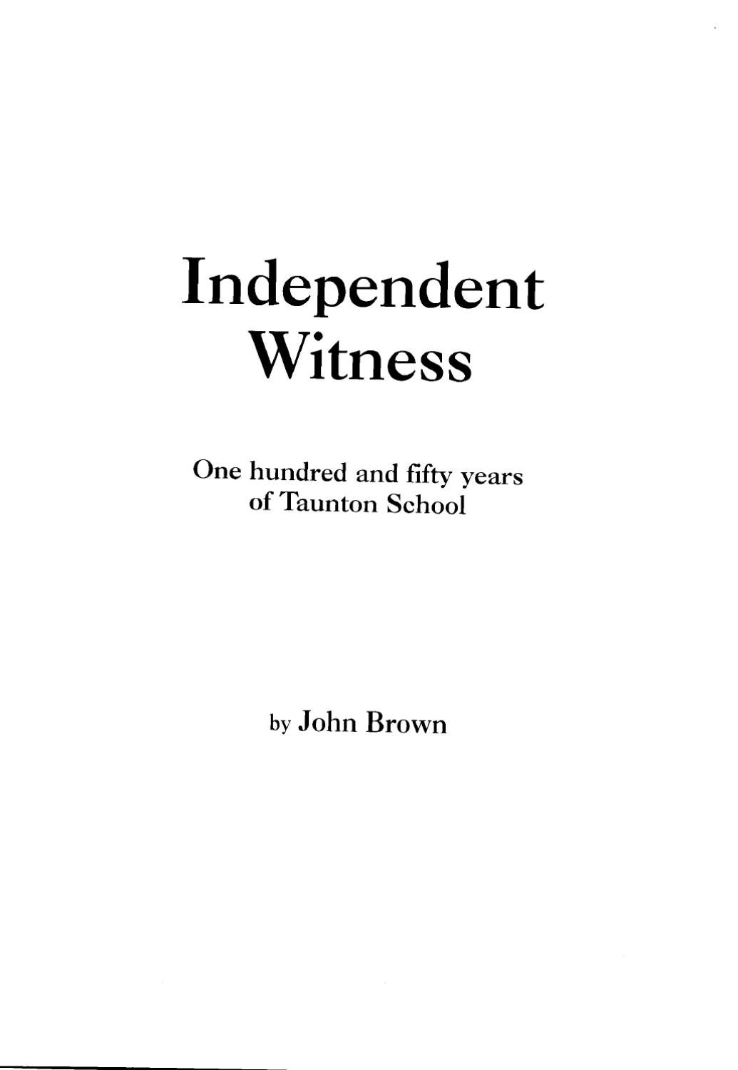 Independent Witness by phil griffiths - issuu