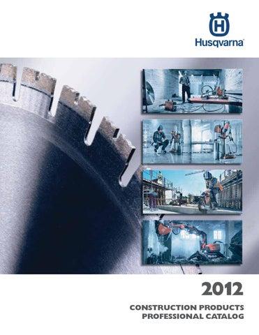 2012 Husqvarna Construction Products Catalog, U S