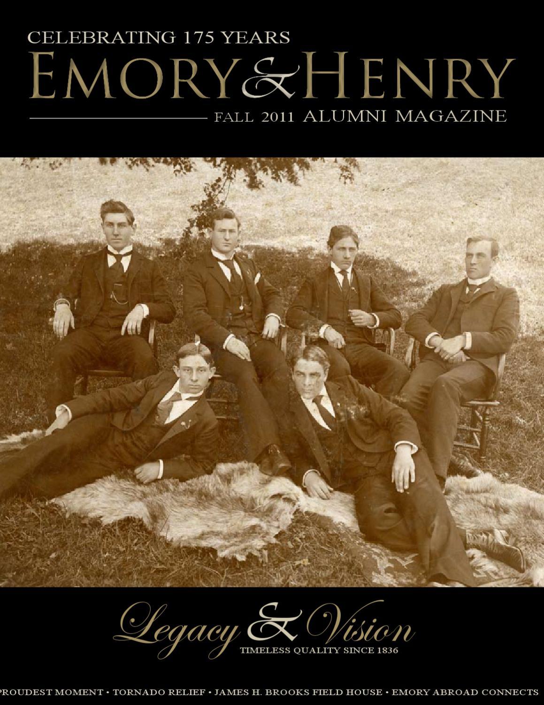 Alumni Magazine Fall 2011 by Emory & Henry College - issuu