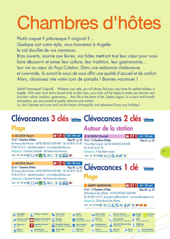 Les chambres d 39 h tes 2012 by argel s sur mer issuu - Chambre d hote argeles sur mer ...