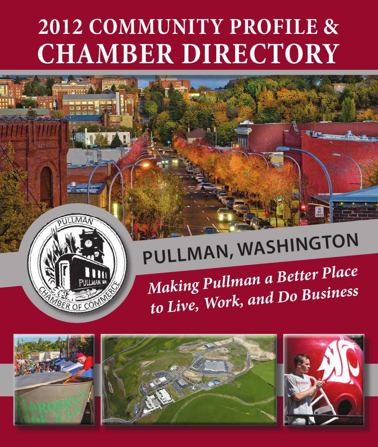 2012 Pullman Chamber Directory By Moscow Daily News