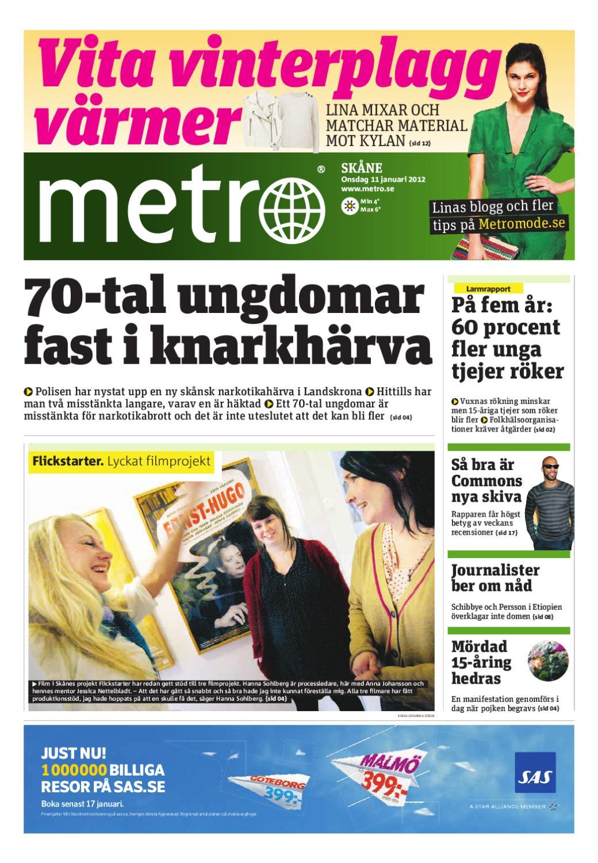 20120111 se malmo by Metro Sweden - issuu 1bfdb1a316cb6