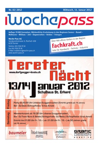 Woche-Pass | KW02 | 11. Januar 2012 by Woche-Pass AG - issuu