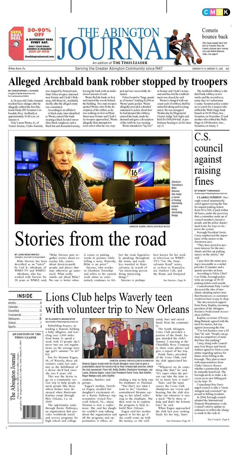 The Abington Journal 01-11-2012 by The Wilkes-Barre