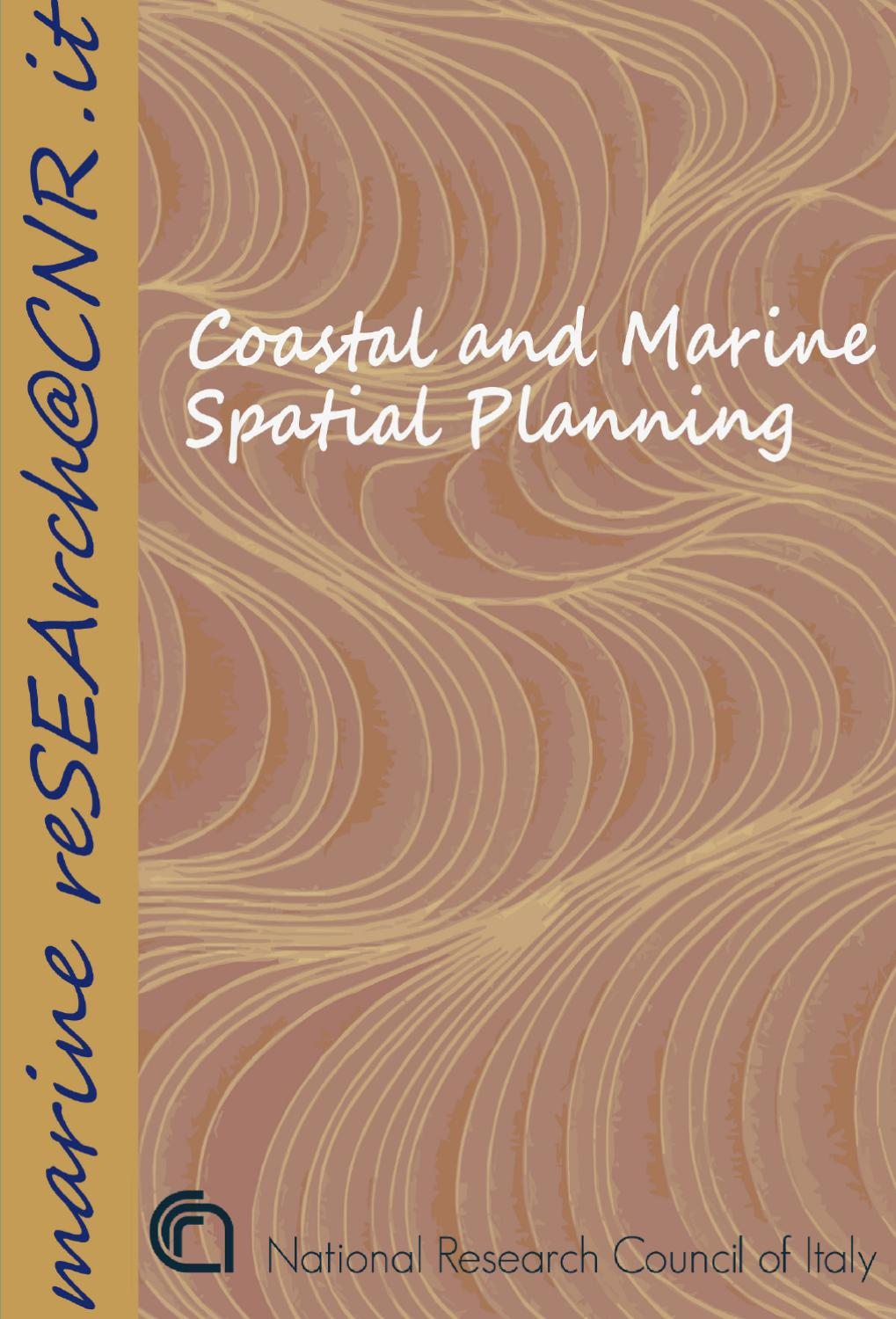 Coastal and Marine Spatial Planning by CNR - Dipartimento