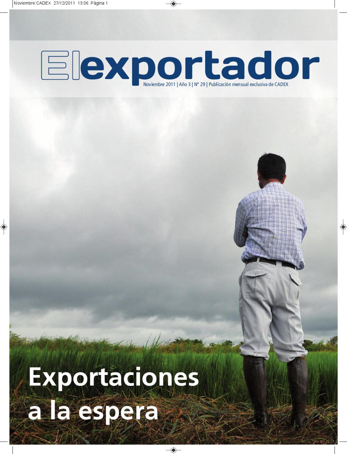 Revista El Exportador y el comercio internacional Nº 29/Noviembre ...