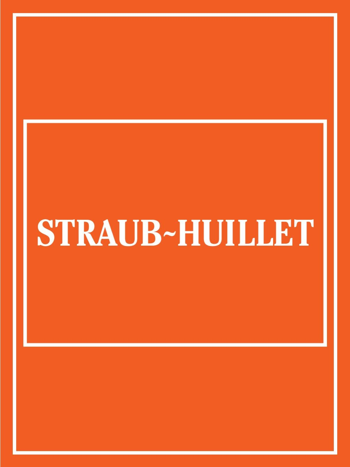 23e23d0d5 Mostra Straub-Huillet by Straub Huillet - issuu