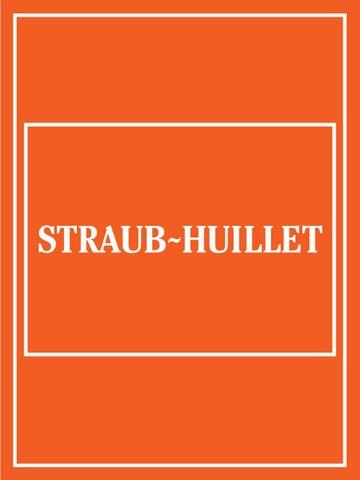 66f7dff946d Mostra Straub-Huillet by Straub Huillet - issuu