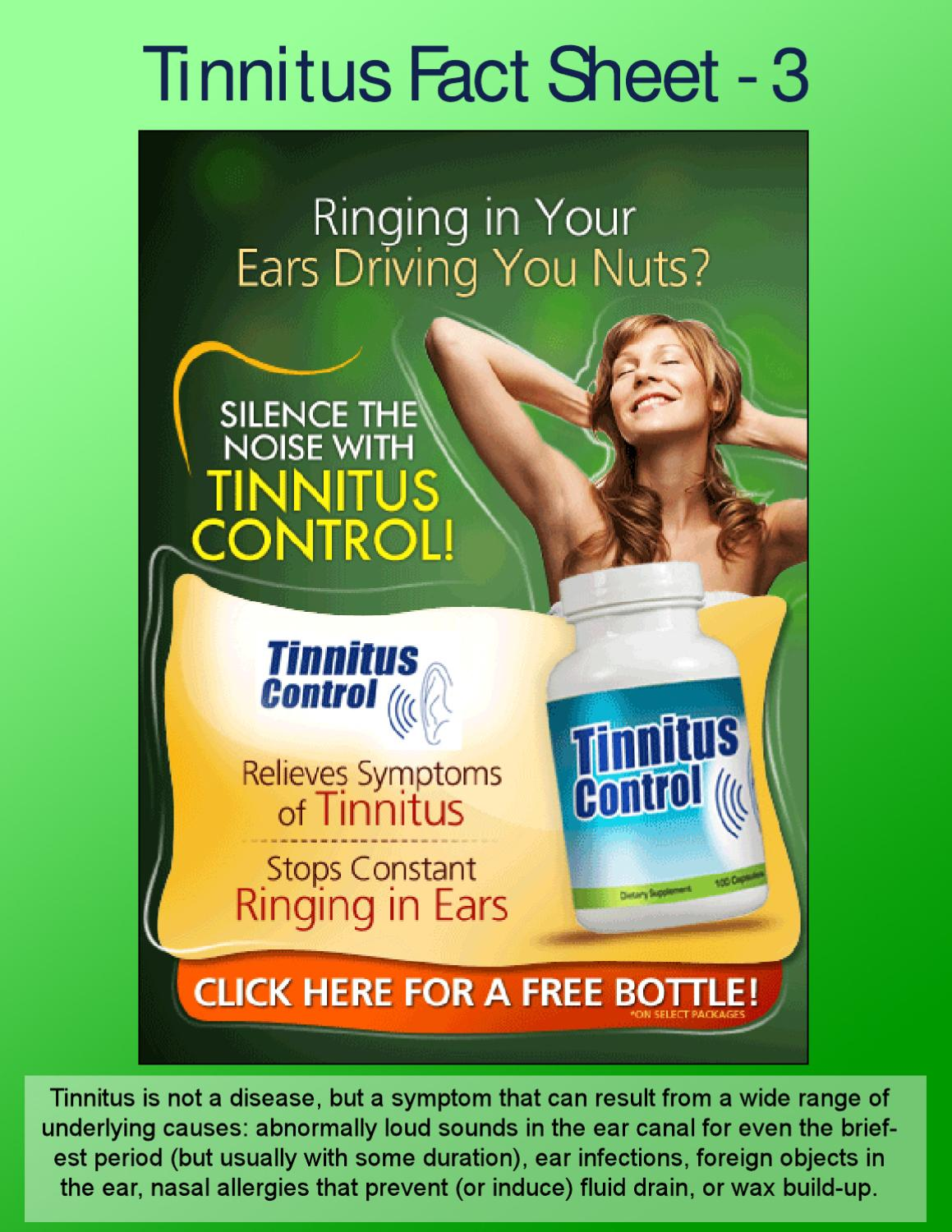 Common Tinnitus Causes To Help Sufferers By Johnny Coffy Issuu