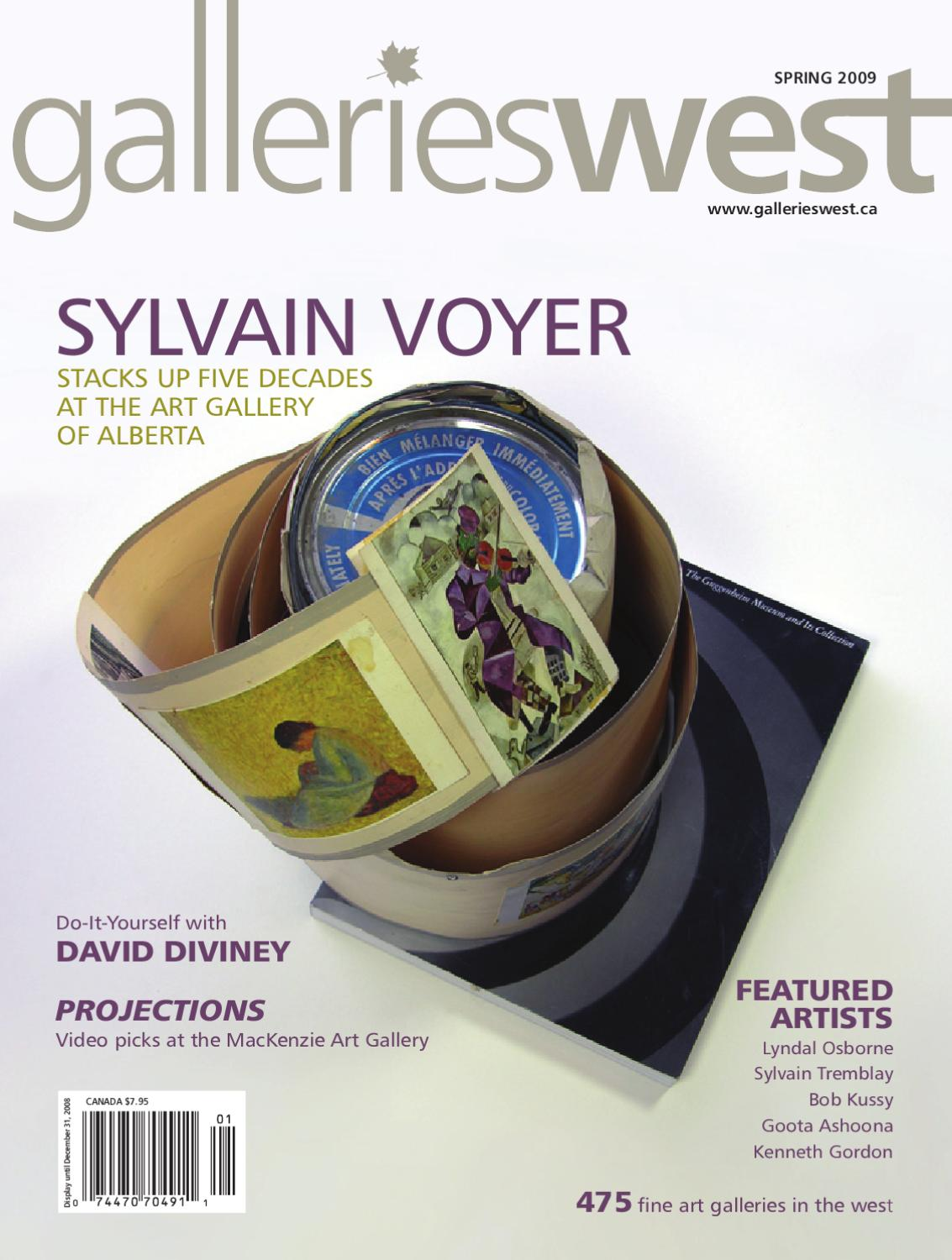 Galleries West Spring 2009 By Issuu Expedition E 6730 M Black Grey