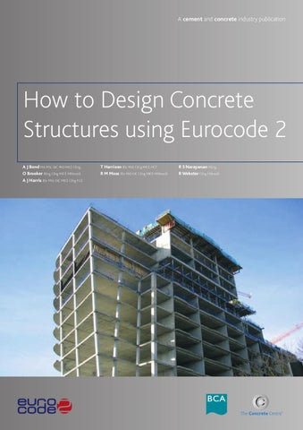 How to design concrete structures using Eurocode 2 by Joanne Khe - issuu
