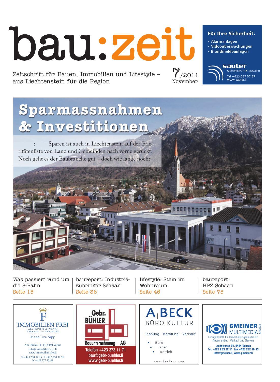 bau:zeit #7 by Medienbüro Oehri & Kaiser AG - issuu