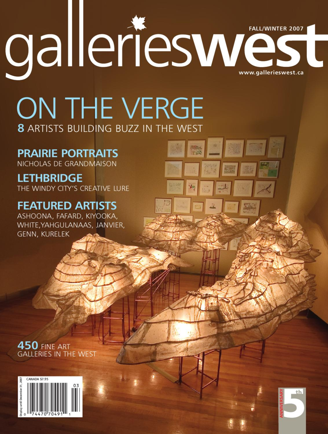 db9f5b020fe0 Galleries West Fall Winter 2007 by Galleries West - issuu