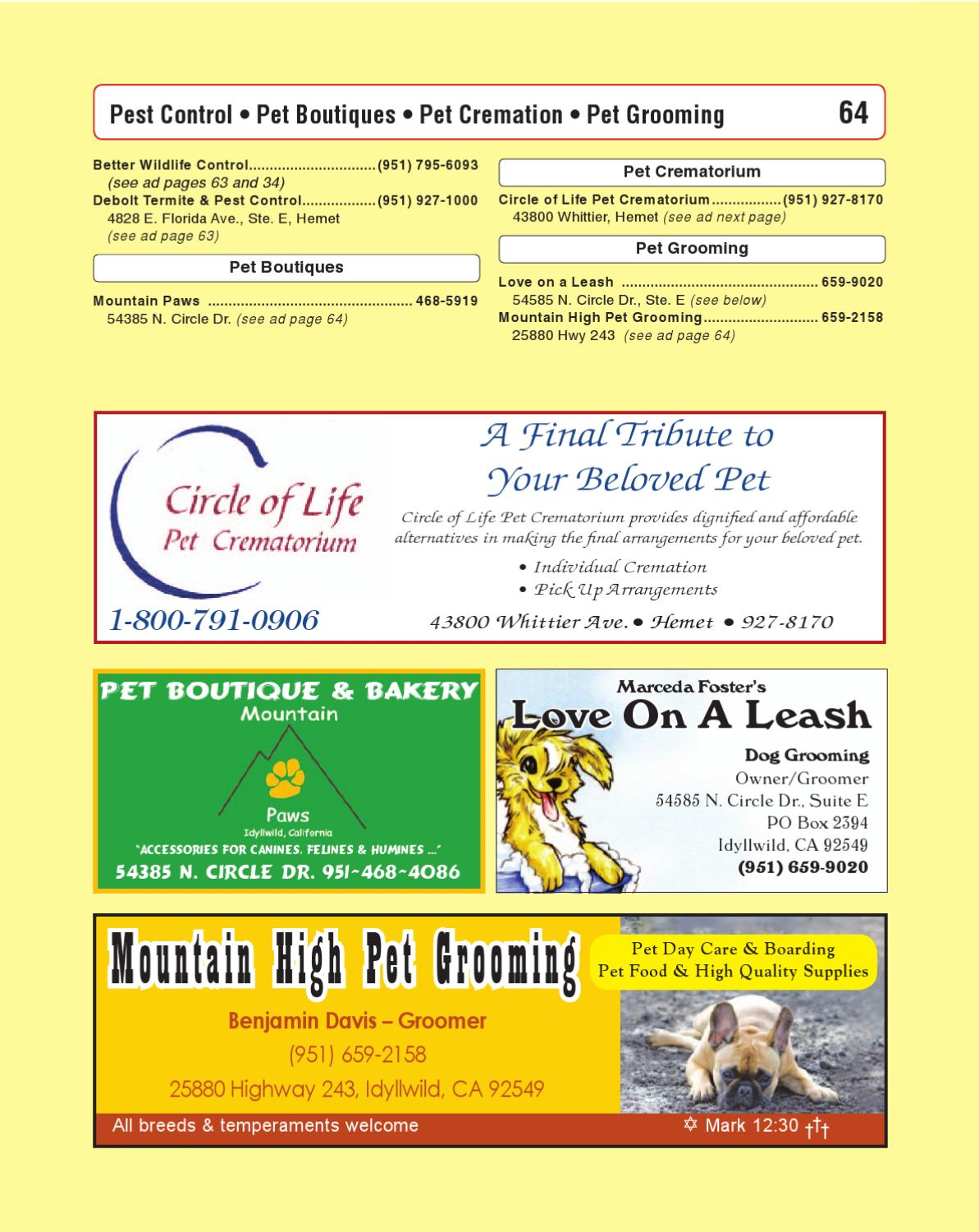 Idyllwild Phone Book 2012 by Idyllwild Town Crier - issuu