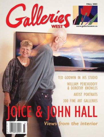 Galleries West Fallwinter 2003 By Galleries West Issuu