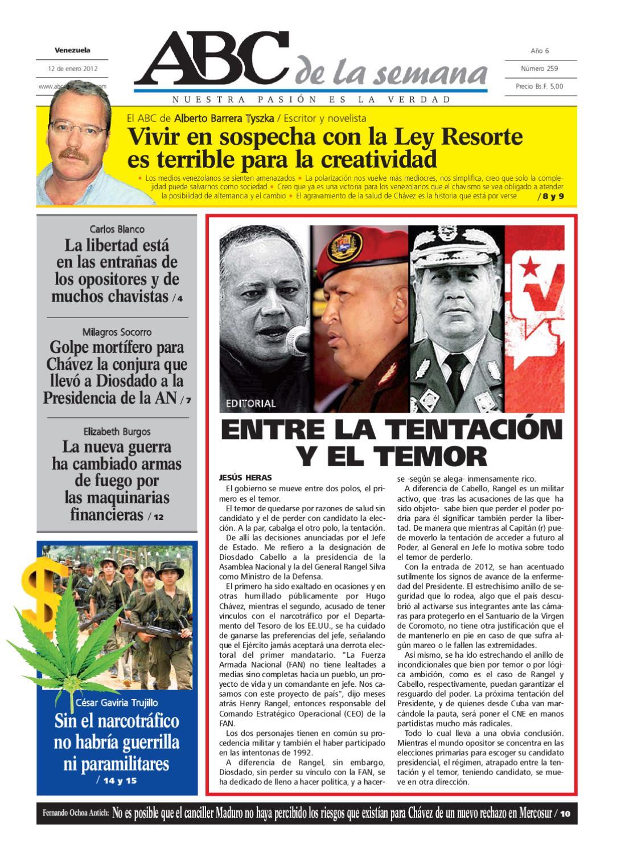 839b5a8a98d ABC de la Semana Edición 259 by ABC DE LA SEMANA VENEZUELA C.A. - issuu