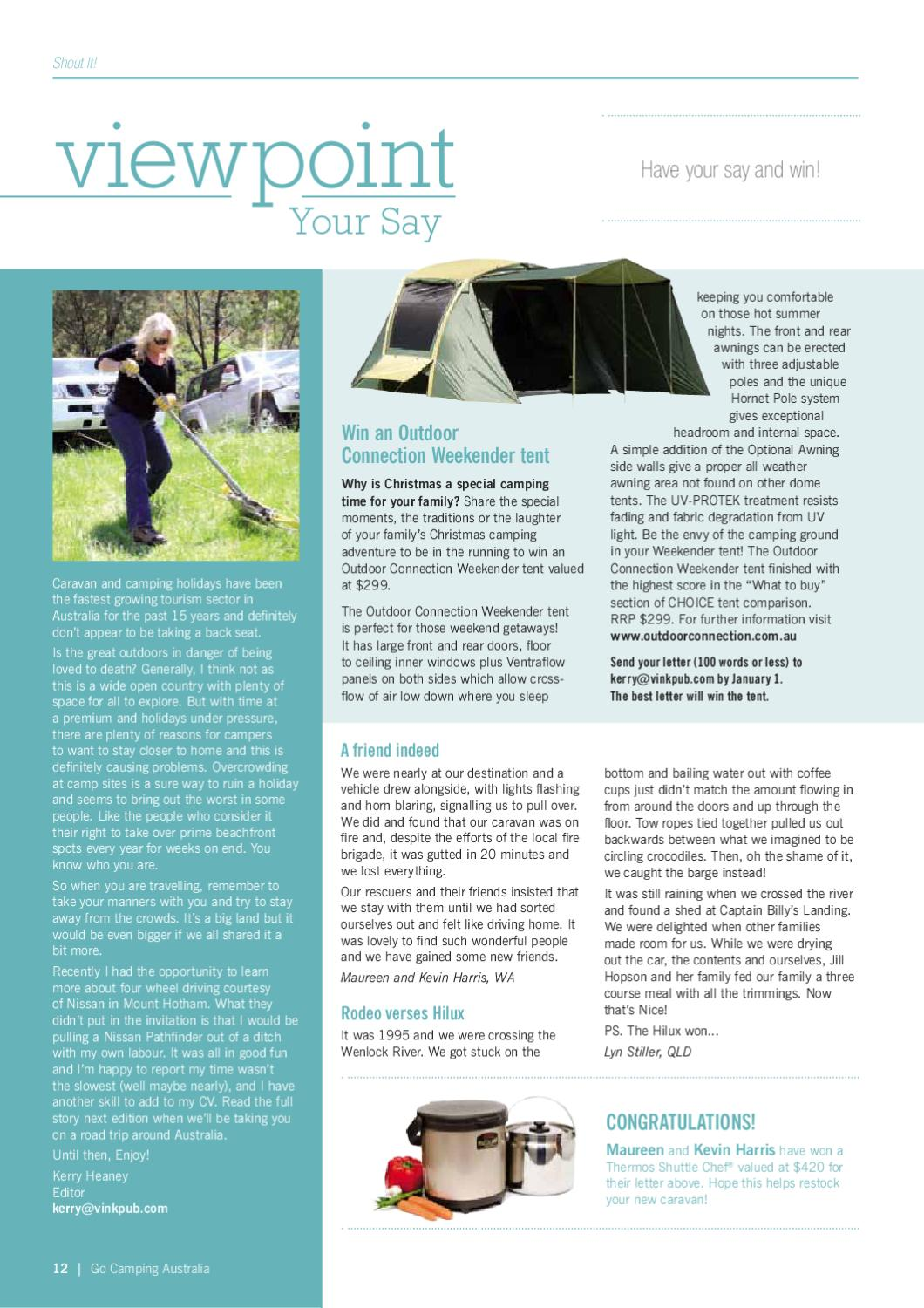 Christmas Camping Australia.Go Camping Australia Issue 76 By Vink Publishing Issuu