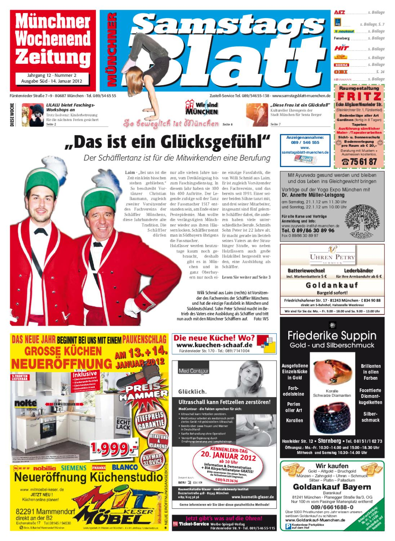 Kw 2 2012 By Wochenanzeiger Medien Gmbh Issuu