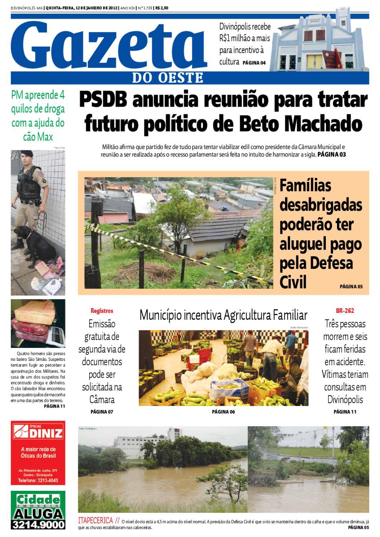 Gazeta do Oeste - Edição 1739 by Portal G37 - issuu 5c2a667a38
