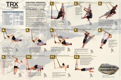Trx Guía De Ejercicios By Fitnessdigital Issuu