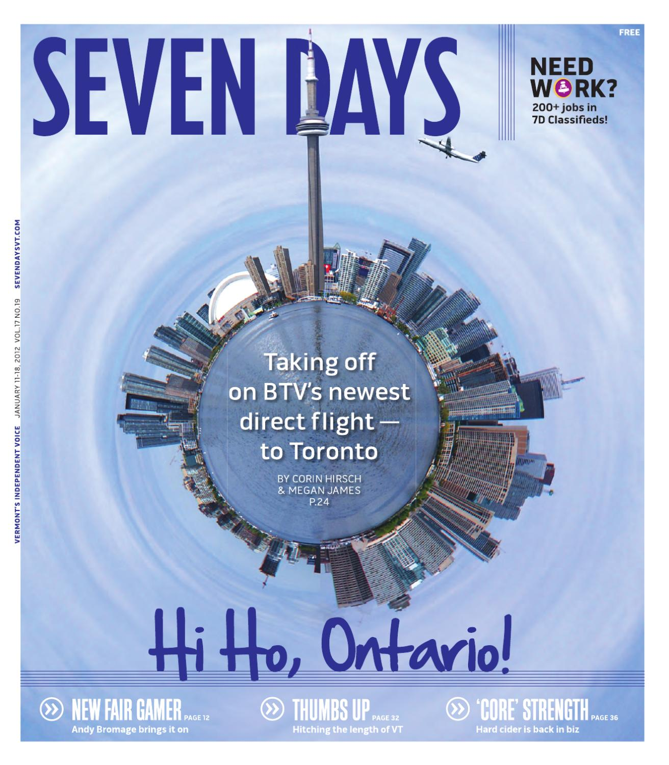 182f5ca2fbe Seven Days 1 11 12 by Seven Days - issuu