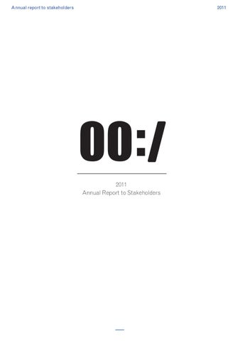 00:/ Annual Report to Stakehol...