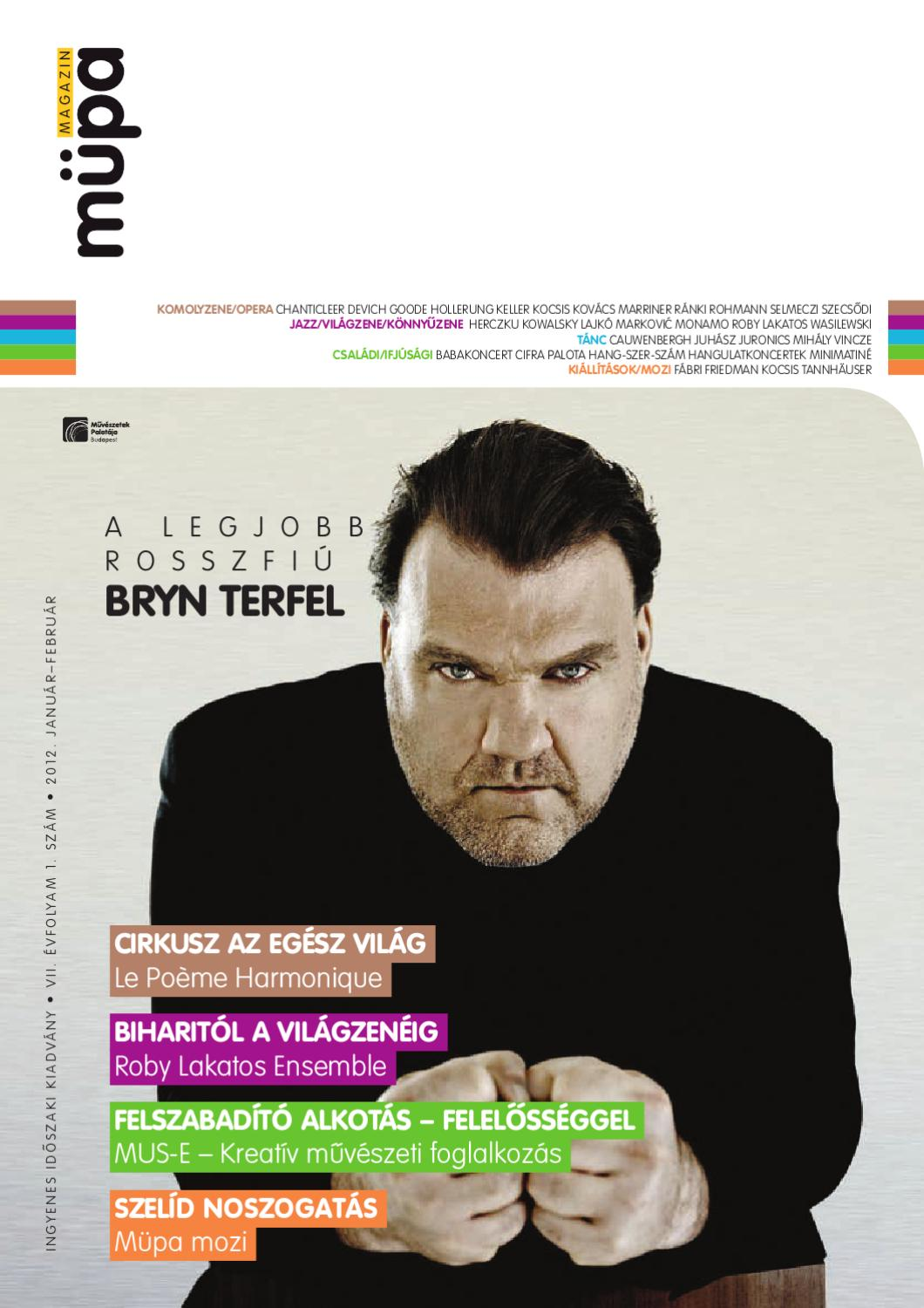 Müpa Magazin 2012 1 by Fidelio Media Kft. - issuu a74bbcddb5