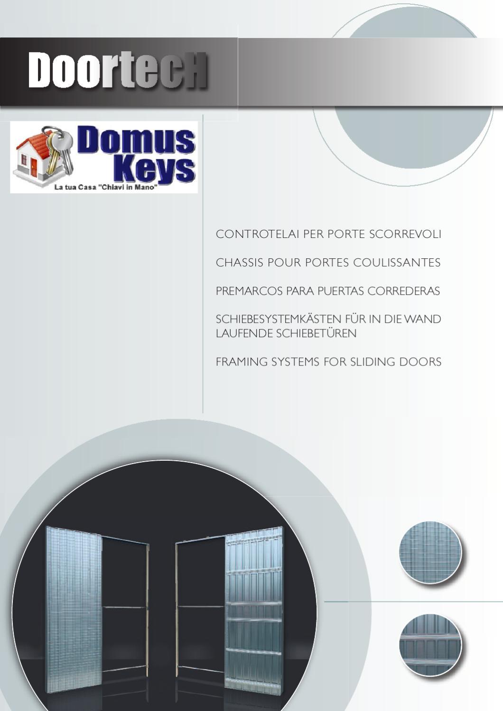 Doortech casseri scrigno per porte a scomparsa by for Doortech controtelai