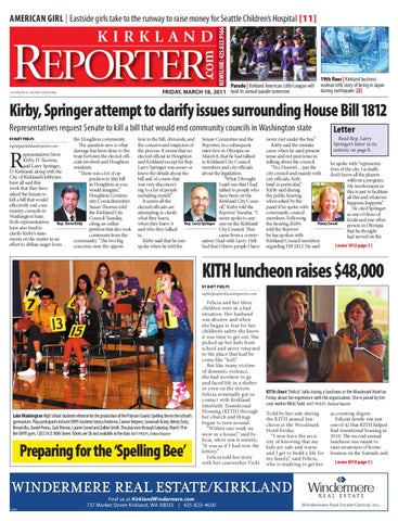 Kirkland Reporter March 18 2011 By Sound Publishing Issuu
