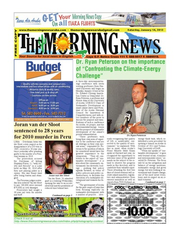 January 14, 2012 by The Morning News - issuu