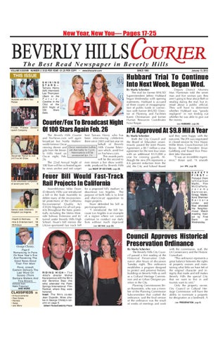47ce6c54 BH Courier 01-13-2012 Edition by The Beverly Hills Courier - issuu