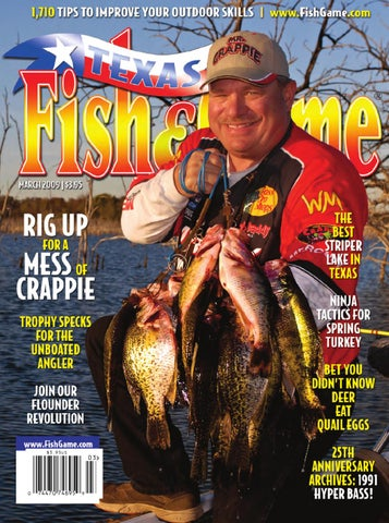 March 2009 by Texas Fish & Game - issuu