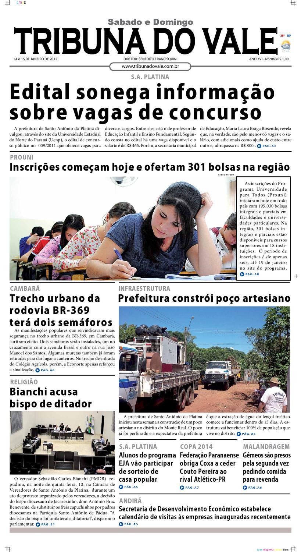 tribuna do vale ediÇÃo nº 2063 by tribuna do vale issuu926 Cursos Teoria De Maquinas E Mecanismos #7