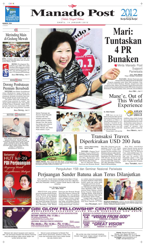 Manado Post By Issuu Produk Ukm Bumn Dat Edwina Bali Orange Slip On