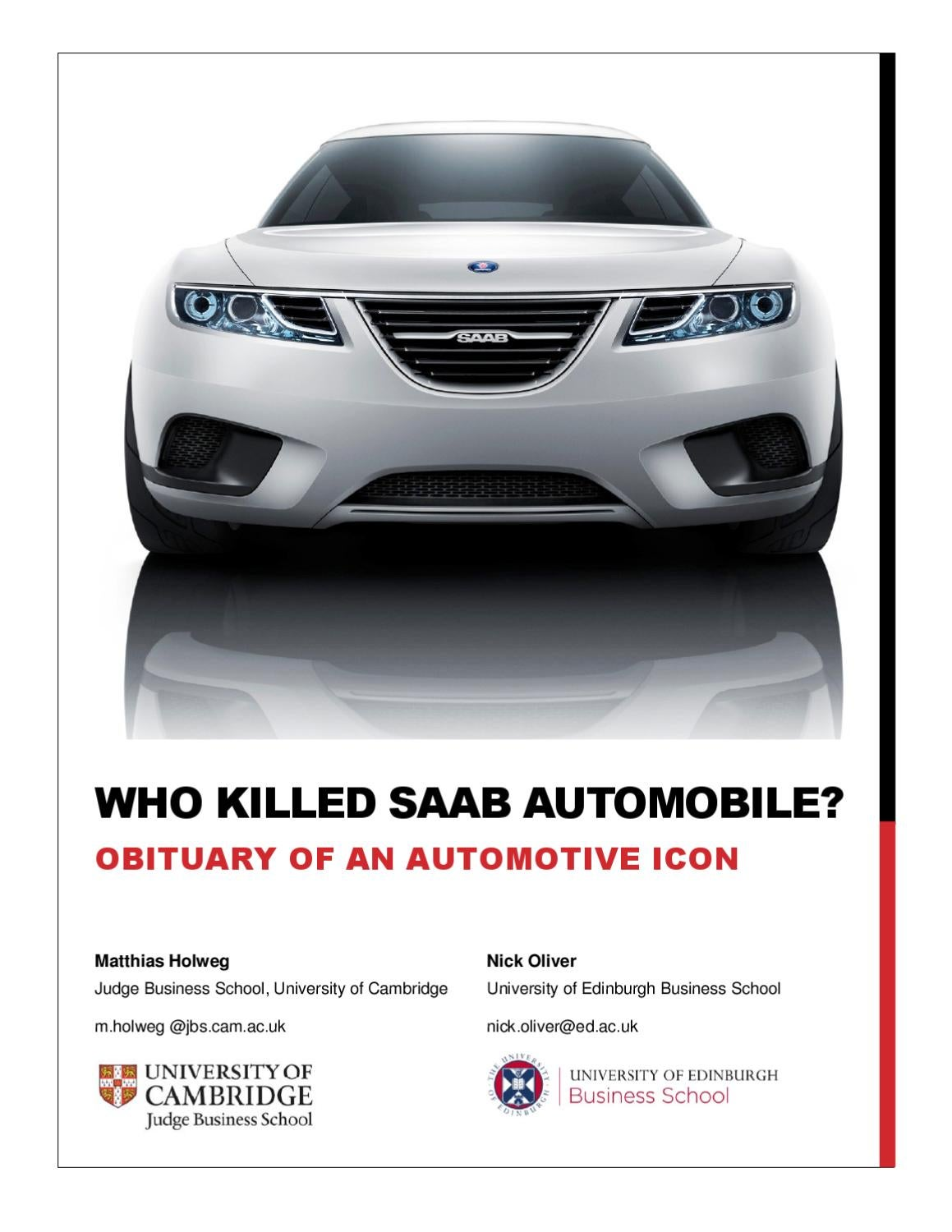 An obitury of an automotive icon by cambridge judge business school issuu