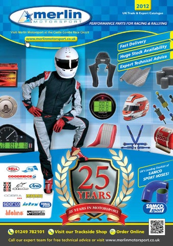 7be65ab7c48 Merlin Motorsport 2012 Motorsport Catalogue by Rob Smith - issuu