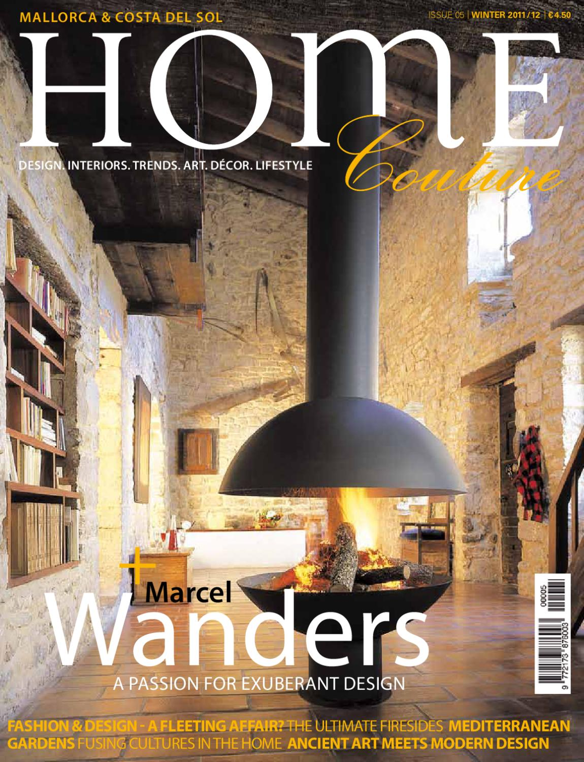 Home Couture Magazine Issue 05 Winter 2011 By Home Couture  # Puigdorfila Muebles