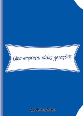 6e94b8e1f6 Empresas Novas Gerações by carlos Reis - issuu