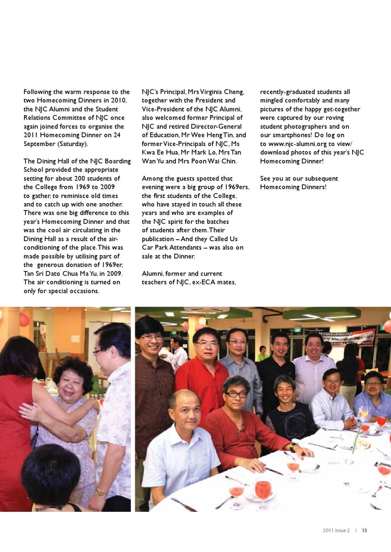 Njconnect 2011 Issue 2 By Alumni Njc Issuu