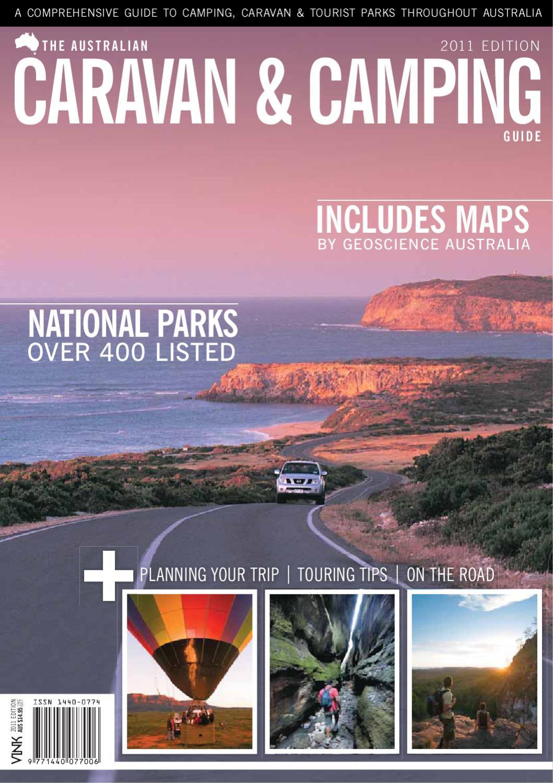 Australian Caravan & Camping Guide - 2011 Edition by Vink