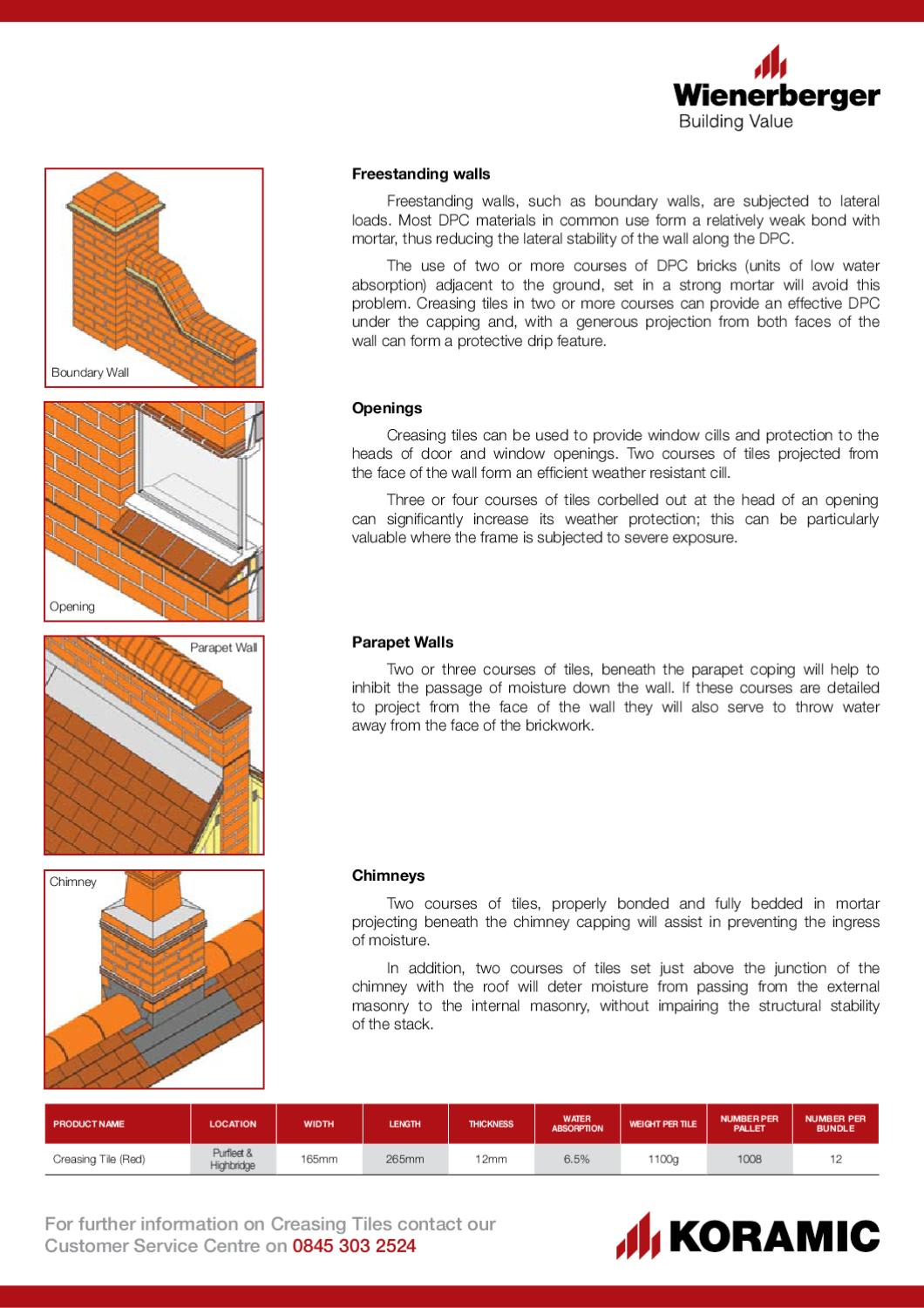 Creasing Tile Flyer By Wienerberger Ag Issuu