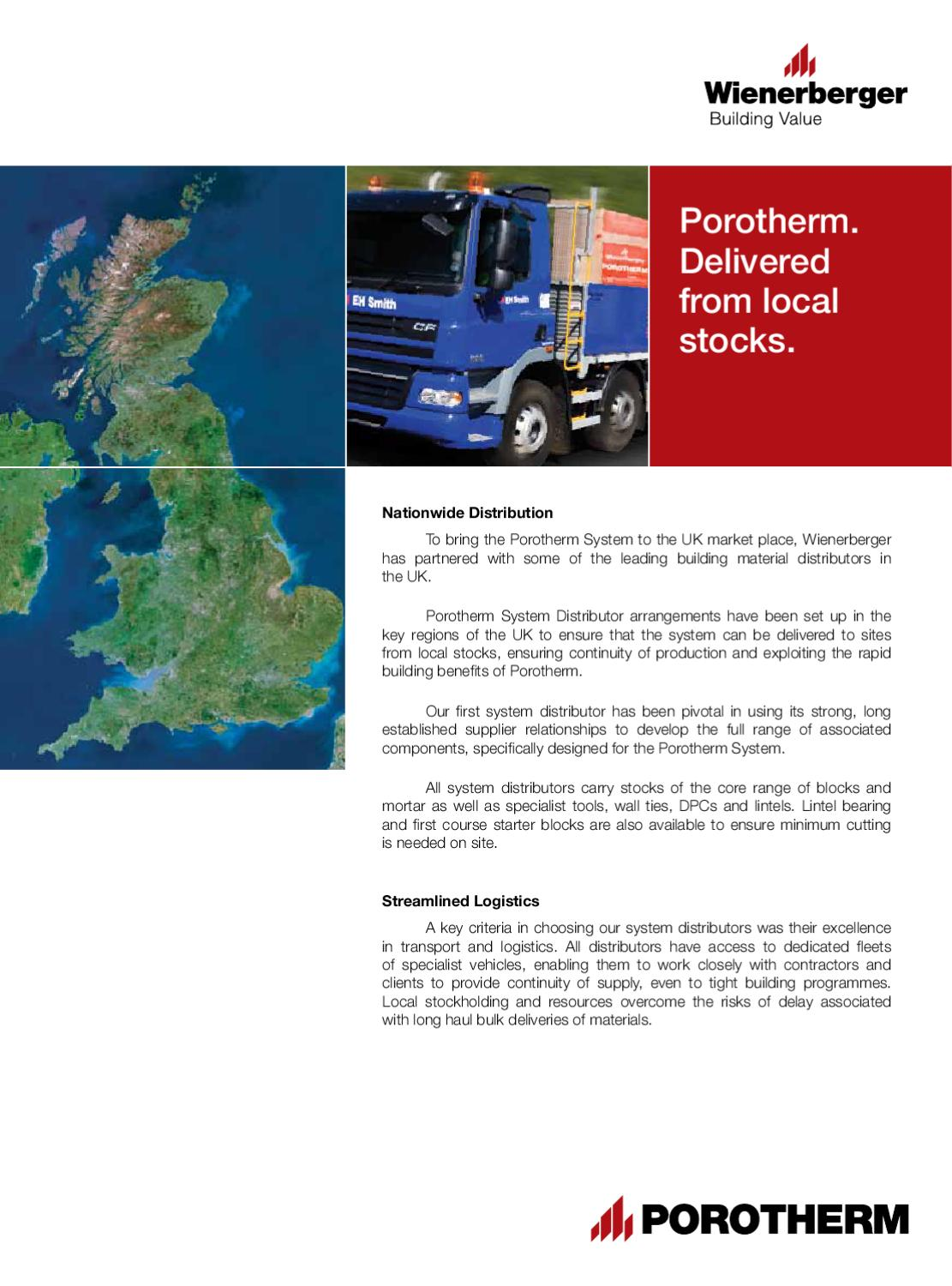 90476191cb Porotherm - Procurement by Wienerberger AG - issuu