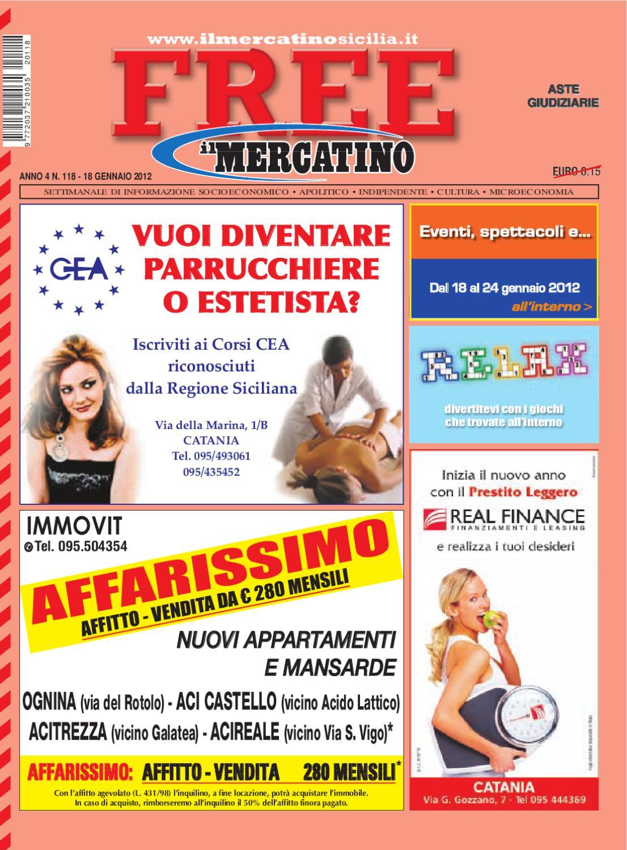 Free n 118 del 18 01 2012 by il mercatino issuu - Detrazioni fiscali in caso di vendita immobile ...